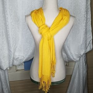 Sunshine Yellow Scarf